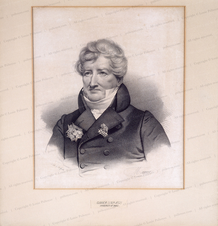 Baron Georges Cuvier 0001 French Scientist Louie Psihoyos