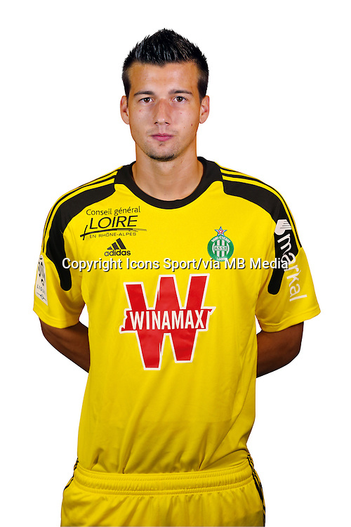 Baptiste VALETTE - 20.09.2013 - Photo Officielle - Saint Etienne<br /> Photo : Icon Sport