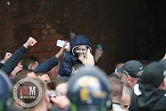 Child Taken to Violent Demo