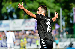 Ziga Kous of NS Mura during football match between NS Mura and NK Maribor in 10th Round of Prva liga Telekom Slovenije 2018/19, on September 30, 2018 in Mestni stadion Fazanerija, Murska Sobota, Slovenia. Photo by Mario Horvat / Sportida