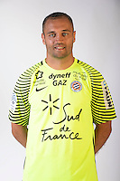Laurent Pionnier during the photocall of Montpellier for new season of Ligue 1 on September 27th 2016 in Montpellier<br /> Photo : Mhsc / Icon Sport