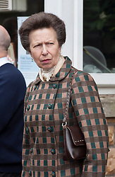 © Licensed to London News Pictures. 01/06/2015. Bristol, UK.  HRH the Princess Royal Princess Anne opens the new visitor centre for the Clifton Suspension Bridge.  The bridge is 150 years old and was designed by the engineer Isambard Kingdom Brunel.  Photo credit : Simon Chapman/LNP
