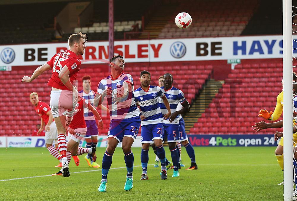 Marley Watkins of Barnsley scores his sides first goal - Mandatory by-line: Matt McNulty/JMP - 17/08/2016 - FOOTBALL - Oakwell Stadium - Barnsley, England - Barnsley v Queens Park Rangers - Sky Bet Championship