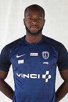 Herve Lybohy during photoshooting of Paris FC for new season 2017/2018 on October 17, 2017 in Paris, France<br /> Photo : Stephane Valade / Icon Sport