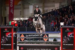 Billington James, (GBR), Dakar VDL<br /> VHO Trofee springen<br /> KWPN Hengstenkeuring - 's Hertogenbosch 2016<br /> © Hippo Foto - Dirk Caremans<br /> 04/02/16