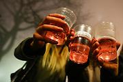 Mannheim. 01.01.16  In der Silvesternacht. Neujahrsfeier mit Konzerten und Partys.<br /> - Am Wasserturm<br /> Bild: Markus Prosswitz 01JAN16 / masterpress (Bild ist honorarpflichtig - No Model Release!)