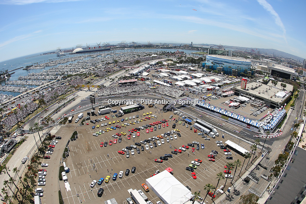 LONG BEACH, CA - APRIL 19:  Fast cars compete in race festivities at the 2009 Long Beach Grand Prix on Sunday, April 19, 2009 in Long Beach, California. ©Paul Anthony Spinelli