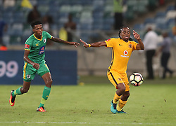 Siphiwe Tshabalala of Kaizer Chiefs during the 2016 Premier Soccer League match between Kaizer Chiefs and Baroka FC held at the Moses Mabhida Stadium in Durban, South Africa on the 2nd November 2016<br /> <br /> Photo by:   Steve Haag / Real Time Images