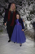 """Adam Adamson and  Georgie Henley . Royal Film Performance and World Premiere of """"The Chronicles Of Narnia"""" at the Royal Albert Hall. London and after-party in Kensington Gardens. 7 December  2005.ONE TIME USE ONLY - DO NOT ARCHIVE  © Copyright Photograph by Dafydd Jones 66 Stockwell Park Rd. London SW9 0DA Tel 020 7733 0108 www.dafjones.com"""