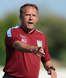 Aston Villa first team coach, Mark Robson - Photo mandatory by-line: Joe Meredith/JMP - Mobile: 07966 386802 - 17/07/2015 - SPORT - Football - Albufeira - Estadio Da Nora - Pre-Season Friendly