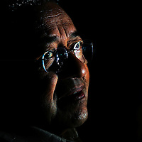Former Malaysian prime minister, Mahathir Mohammad. He held the post of prime minister from 1981 to 2003.