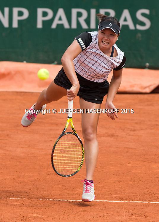 Kurumi Nara (JPN)<br /> <br /> Tennis - French Open 2016 - Grand Slam ITF / ATP / WTA -  Roland Garros - Paris -  - France  - 26 May 2016.
