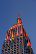 Empire State Building,  NYC, NY, designed by Shreve, Lamb & Harmon, William F. Lamb as chief designer