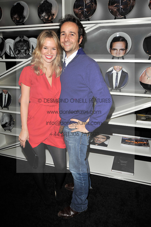 MATT & MARISSA HERMER at a party to celebrate the 15th birthday of Vogue.com held at W Hotel, Leicester Square, London W1 on 17th February 2011.