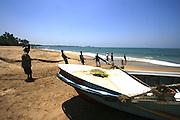 Net fishing, Kalutara Beach, Sri Lanka