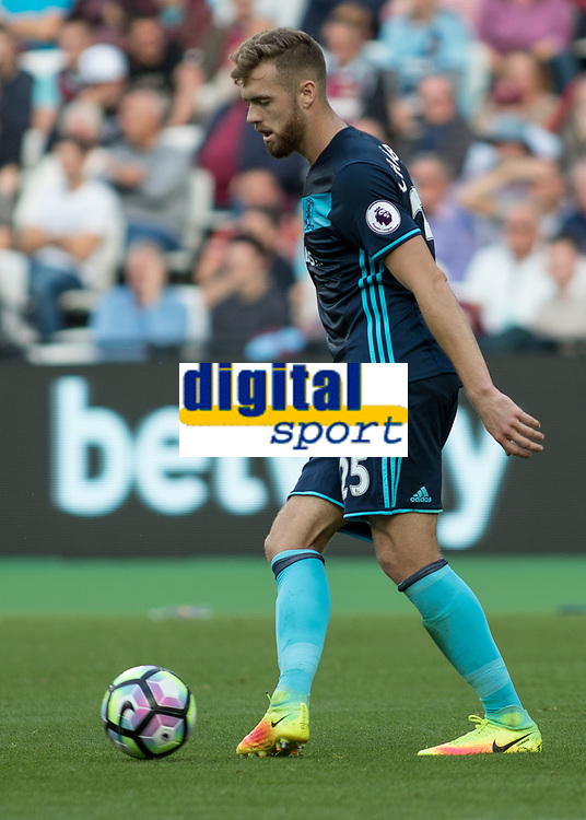 Football - 2016 / 2017 Premier League - West Ham United vs. Middesborough <br /> <br /> Calum Chambers of Middlesborough at The London Stadium.<br /> <br /> COLORSPORT/DANIEL BEARHAM