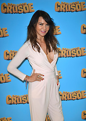 Lizzie Cundy at the 'Robinson Crusoe' Screening, London, 03rd april 2016. EXPA Pictures © 2016, PhotoCredit: EXPA/ Photoshot/ Brian Jordan<br /> <br /> *****ATTENTION - for AUT, SLO, CRO, SRB, BIH, MAZ, SUI only*****