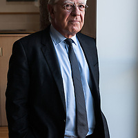 Paris, France le 6 novembre 2014. Pierre Rene Lemas, directeur general de la Caisse des depots et de consignations (CDC), dans son bureau au siege.