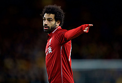 WOLVERHAMPTON, ENGLAND - Monday, January 7, 2019: Liverpool's Mohamed Salah during the FA Cup 3rd Round match between Wolverhampton Wanderers FC and Liverpool FC at Molineux Stadium. (Pic by David Rawcliffe/Propaganda)