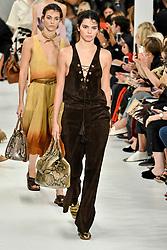 Milan Fashion Week Spring Summer 2018. Milano Fashion Woman, Spring Summer 2018. Tod's Fashion Show Pictured: Kendall Jenner on the catwalk at Tod's Fashion Show at Milan Women's Fashion Week