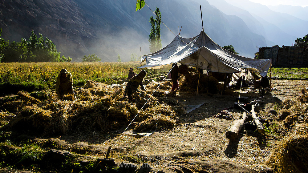 Early Morning in Turtuk. A village just on the 'line of control' between India & Pakistan.