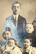 family studio portrait Japan 1933