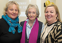 01/12/2014 Repro free  UNESCO Director-General, Ms Irina Bokova, announced from Paris &nbsp;&nbsp;that Galway has been designated a UNESCO City Of Film. Under the UNESCO Creative City&rsquo;s network, Galway is now one of only five cities in the world to &nbsp;achieve this much sought-after status.  This is a &nbsp;permanent global designation. This status brings &nbsp;the highest internationally &nbsp;recognised standard of excellence in &nbsp;the creative industries to Galway. The title of Creative City of Film also includes membership of UNESCO&rsquo;s Creative City&rsquo;s Network.<br /> At the celebrations at the Galway Film Centre were Celine Cutin GMIT,  Lelia Doolan Picture Palace and Cait Noone Head of College Tourism and Arts GMIT  . Photo:Andrew Downes