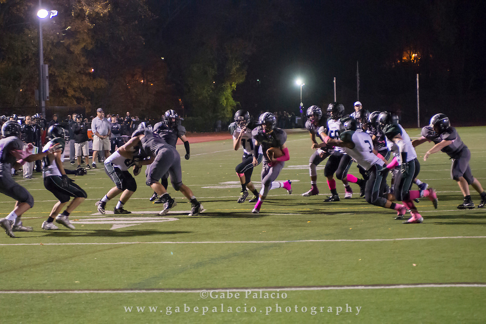 John Jay Varsity Football game vs. Yorktown on October 17, 2014. (photo by Gabe Palacio)