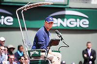 illustration arbitre  - 25.05.2015 - Jour 2 - Roland Garros 2015<br />