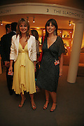 Polly Hewlett and Milly Dawson, New Collectors Evening. The Grosvenor House Art and Antiques Fair. 20 June 2006. ONE TIME USE ONLY - DO NOT ARCHIVE  © Copyright Photograph by Dafydd Jones 66 Stockwell Park Rd. London SW9 0DA Tel 020 7733 0108 www.dafjones.com
