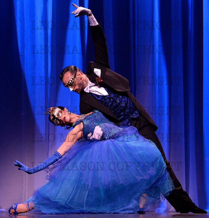 29.02.2016 Immortal Tango at The Peacock Theatre London UK Featuring German Cornejo & his cast of world-class tango superstars BOEDO Jose Fernandez & Martina Waldman