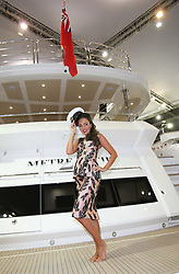 Tamara Ecclestone opens  the  London Boat Show , Friday 6th January 2012.  Photo by: Stephen Lock / i-Images