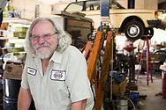 Mitch Wilson delägare i Alamo Automotive i Portland. <br /> Foto: Christina Sjögren
