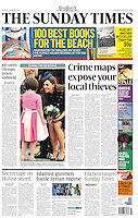 The Sunday Times Page One: The Duchess of Cambridge presents Operational Medals on Forces Day. <br /> PICTURE BY JAMES WHATLING