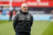 Ospreys Head Coach Steve Tandy before the Guinness Pro 12 2017 Round 21 match between Ospreys and Ulster at the Liberty Stadium, Swansea, Wales on 29 April 2017. Photo by Andrew Lewis.