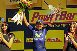Annecy-Semnoz, France - Tour de France :: Stage 20 - 20-07-2013 - Podium: QUINTANA wins Stage 20