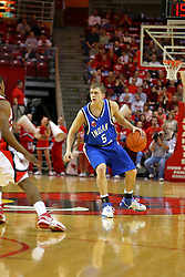 06 January 2007: Cole Holmstrom. The Sycamores of Indiana State University topped the Redbirds home 54 - 50 inside Redbird Arena in Normal Illinois on the campus of Illinois State University.<br />