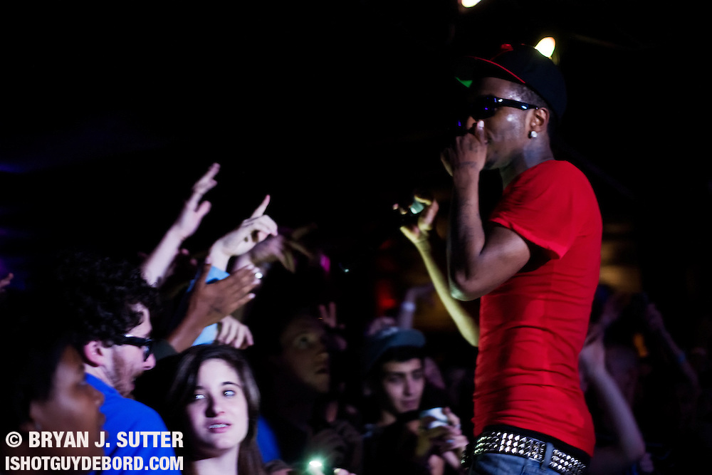 Bay area rapper and positivity enthusiast Lil B (aka The Based God, aka Master Chef) swagged out The Firebird in Saint Louis, Missouri on September 25th, 2012.  Saint Louis now knows what it means to be based.