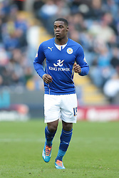 Leicester City's Jeffrey Schlupp  - Photo mandatory by-line: Nigel Pitts-Drake/JMP - Tel: Mobile: 07966 386802 14/12/2013 - SPORT - Football - Leicester - King Power Stadium - Leicester City v Burnley - Sky Bet Championship