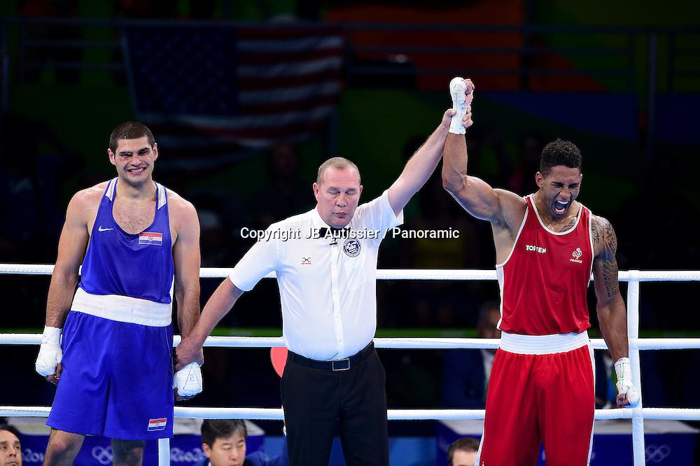 joie de YOKA Tony Victor James (fra - rouge) poids super loud hommes +91kg