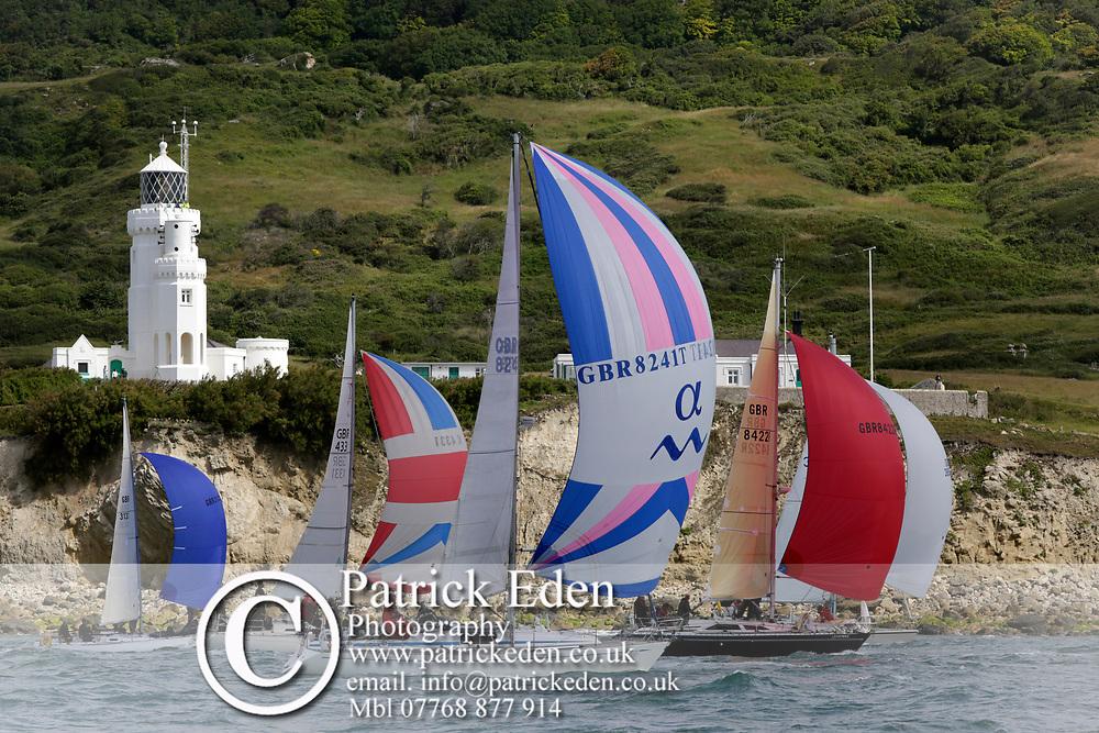 2017, July 1, Round the island Race, Round the Island Race, UK, Isle of Wight, Cowes GBR 8241T TEXA GBR 8422R BRAINWAVE GBR 4331 KERRY JANE