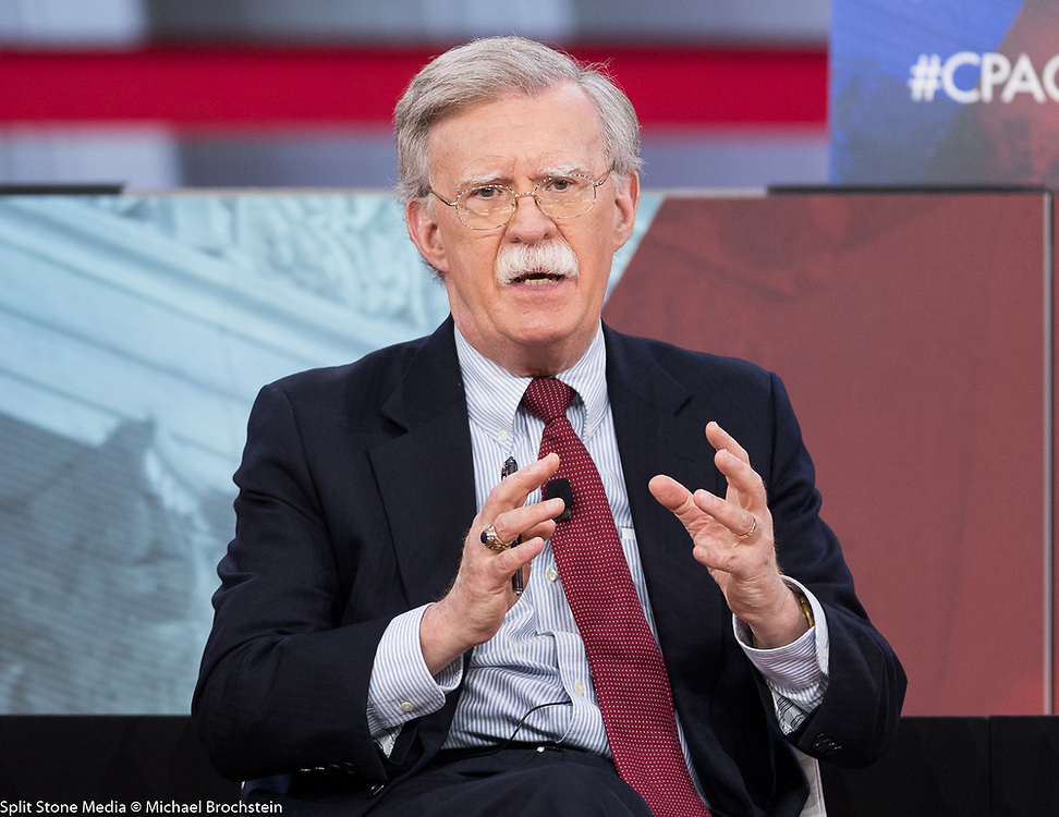 John Bolton, Former United States Ambassador to the United Nations, at the Conservative Political Action Conference (CPAC) sponsored by the American Conservative Union held at the Gaylord National Resort & Convention Center in Oxon Hill, MD on February 22, 2018