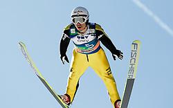16.03.2012, Planica, Kranjska Gora, SLO, FIS Ski Sprung Weltcup, Einzel Skifliegen, im Bild Davide Bresadola (ITA),  during the FIS Skijumping Worldcup Individual Flying Hill, at Planica, Kranjska Gora, Slovenia on 2012/03/16. EXPA © 2012, PhotoCredit: EXPA/ Oskar Hoeher