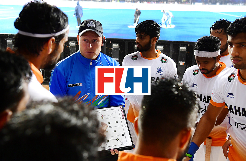 Odisha Men's Hockey World League Final Bhubaneswar 2017<br /> Match id:19<br /> India v Argentina<br /> Foto: coach Sjoerd Marijne (Ind) <br /> COPYRIGHT WORLDSPORTPICS FRANK UIJLENBROEK