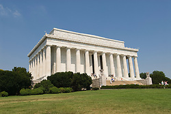 Washington DC; USA: The Lincoln Memorial, Monument to President Abraham Lincoln, on the National Mall.Photo copyright Lee Foster Photo # 4-washdc83287