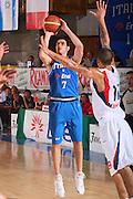 DESCRIZIONE : Bormio Torneo Internazionale Maschile Diego Gianatti Italia Francia <br /> GIOCATORE : Matteo Soragna <br /> SQUADRA : Nazionale Italia Uomini Italy <br /> EVENTO : Raduno Collegiale Nazionale Maschile <br /> GARA : Italia Francia Italy France <br /> DATA : 02/08/2008 <br /> CATEGORIA : Tiro <br /> SPORT : Pallacanestro <br /> AUTORE : Agenzia Ciamillo-Castoria/S.Silvestri <br /> Galleria : Fip Nazionali 2008 <br /> Fotonotizia : Bormio Torneo Internazionale Maschile Diego Gianatti Italia Francia <br /> Predefinita :