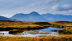 Lochan and mountains on the edge of Rannoch Moor, Scotland in autumn<br /> <br /> (c) Andrew Wilson | Edinburgh Elite media