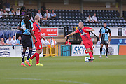 Luke Summerfield during the Sky Bet League 2 match between Wycombe Wanderers and York City at Adams Park, High Wycombe, England on 8 August 2015. Photo by Simon Davies.