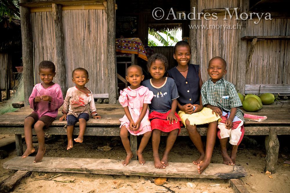 Malagasy family, Mananara, Madagascar Image by Andres Morya