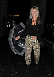 Jo Wood attends LFW: PPQ - s/s 2014 catwalk show in London 13/09/2013<br />
